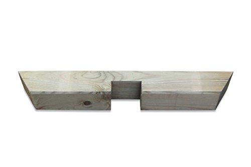 Pergola Einzelreiter aus Holz B4,5 x H9 x L65 cm