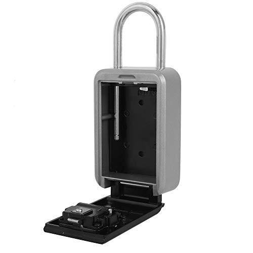 Caja para llaves, caja de seguridad para llaves con gran capacidad de almacenamiento y alta calidad resistente a la intemperie, caja para llaves no corrosiva, garaje para el hogar