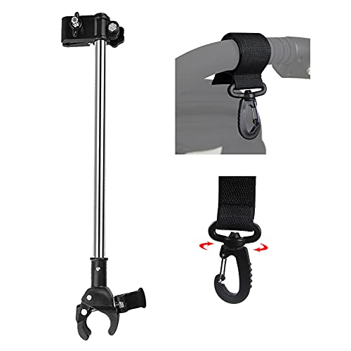 Yobee Umbrella Mount Stand, No Need Any Tooling To Attach Umbrella Connector Holder, Adjustable Outdoor Umbrella Holder for Bike, Electric Bicycle, Walker, Pram, Stroller