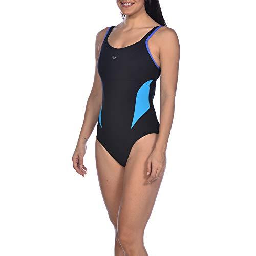 ARENA Damen Badeanzug Bodylift Makimurax Cup B, Schwarz, FR: 3XL (Größe Hersteller: 52)