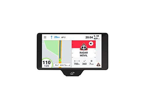 Coyote - GPS - Coyote Nav+, Asistente De Conducción, Navegador con Mapas 3D, Alertas En Tiempo Real, Negro