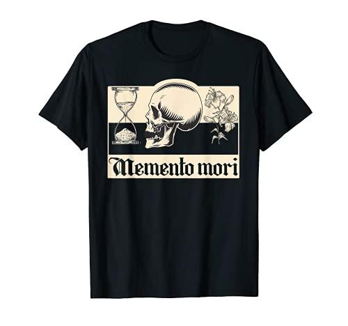 Memento mori frase latina Estoicismo Filosofía Filósofo Camiseta