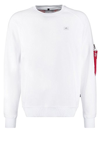 Alpha Industries X-Fit Sweatshirt Weiß L
