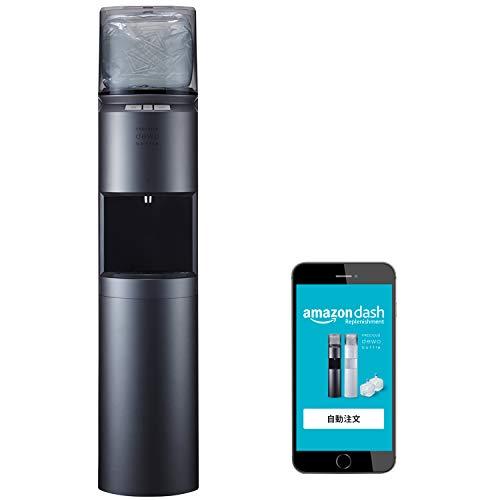 FRECIOUS dewo bottle IoTウォーターサーバー(メタリックブラック)【Amazon限定:自動注文機能搭載】