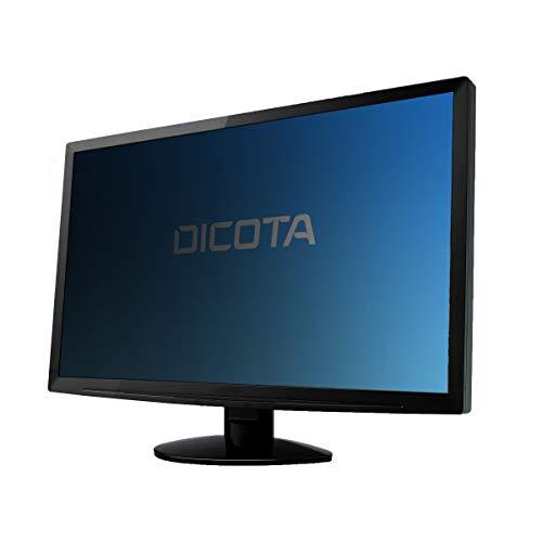 DICOTA Secret - Filtro de privacidad de pantalla - 2 vías - plug-in - negro - para Dell UltraSharp U3419W