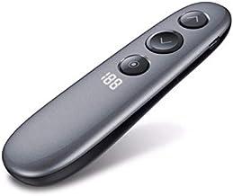DZSF Spotlight Magnify Télécommande de présentation avec Air Mouse, 2.4G sans Fil PPT Présentateur pointeur Laser numériqu...