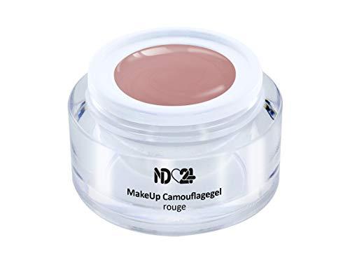 Make Up Camouflage Aufbau - Gel Rouge - Babyboomer- Studio Qualität - Made in Germany - 5ml