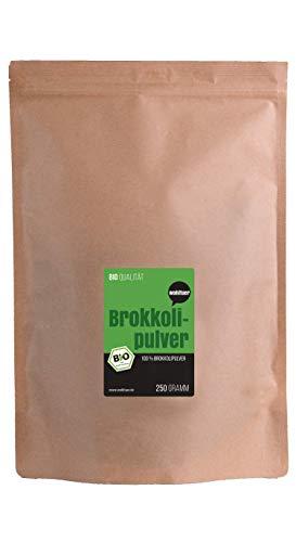 Wohltuer Bio Brokkoli Pulver - Feldfrisch und schonend vermahlen aus Deutschland