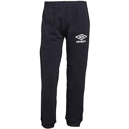 Umbro Herren Jogger Active Style Skinny Jogginghose Sweat Pants Track Pants Gr. 27-32, Schwarz