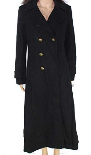 Price comparison product image LAUREN RALPH LAUREN Double Breasted Maxi Wool Black 8