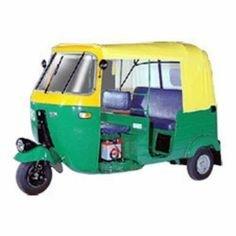Yellow Tuk Tuk Bajaj Auto Taxi 3 Wheeler ソフトキャノピー ルーフトップフードカバー 17000103
