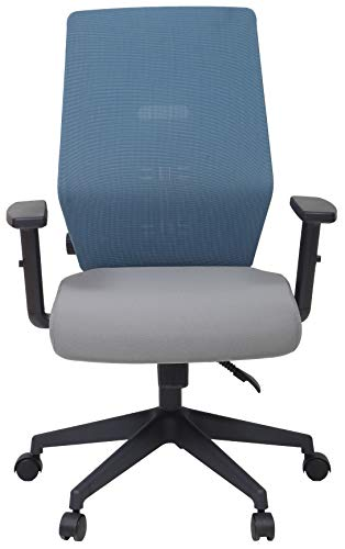 UNIMAPLE WITH U Duplex Pro Ergonomic Revolving Reclinable Office Chair with Back Support for Study/Office/Computer Desk/Home-Office/ (Blue; 26 x 21 x 41 Inches)