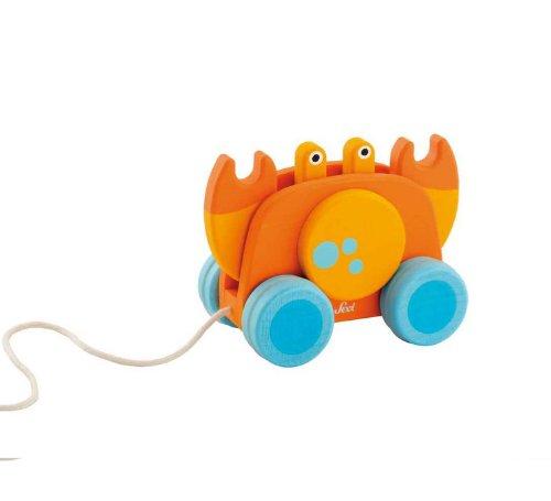 Sevi - 82595 - Jouet de Premier Age - Crabe à Traîner avec Mouvement