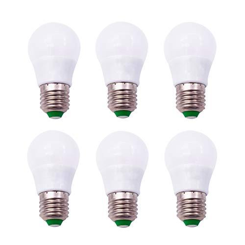 E27 3,0 Watt SMD LED Keramik Glühbirne AC/DC 12V 30W Glühlampe Ersatz Home Lighting Kronleuchter Tischlampen Warmweiß Packung mit 6