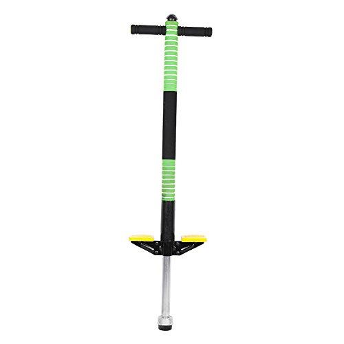 Filfeel Pogo Stick Jumper, Kids & Adult Sprungfeder Stockspringen Gleichgewichtstraining Outdoor Sports Interaction (Grün Single)