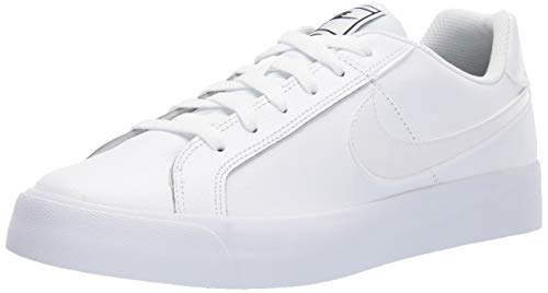 Solid White Ladies Shoe - 1