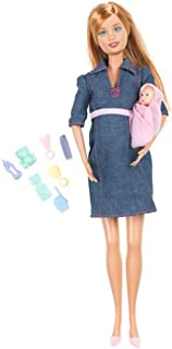 Barbie's Friend Midge with Pregnant Tummy and Baby