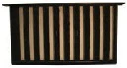 Witten Automatic Vent Max 49% OFF Bestvents 319BL Gril Foundation Special price for a limited time Mesh