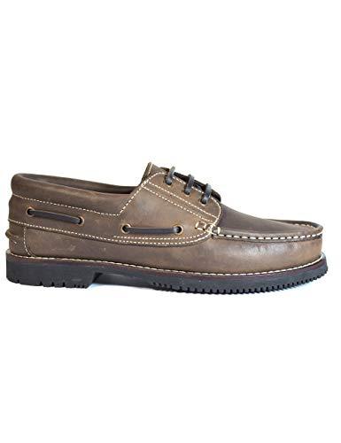 Zapatos náuticos Tipo Apache Fabricados Piel Cordón