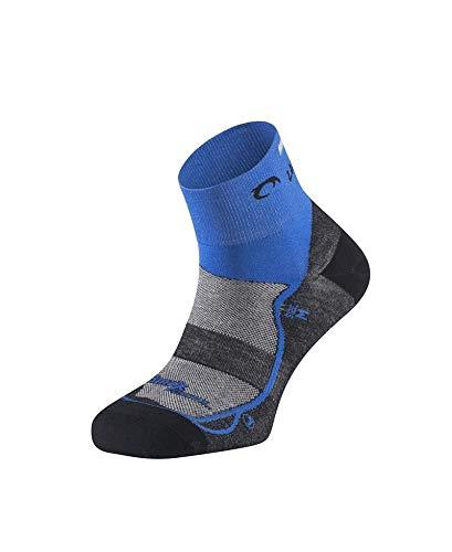 Lurbel Calcetín Race Running Negro/Azul Talla L (43-46)