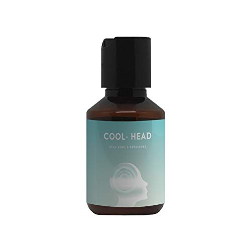 Kopfhautöl mit Menthol & Eukalyptus von COOL-HEAD | 100ml Öl | Beruhigendes Massageöl | erfrischend & kühlend | Schmerzlinderung für die Kopfhaut | spendet Feuchtigkeit | gegen trockene Kopfhaut