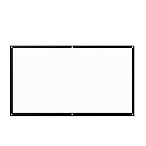 Pantalla de proyector portátil para interiores y exteriores