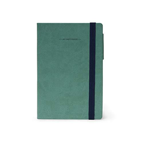 LEGAMI - Libreta Legami My Notebook Medium Cuadriculada Pequeño Vintage Verde - -5% En Libros