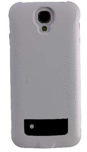Peter Jäckel 13449 Power Case für Samsung i9505 Galaxy S4 weiß