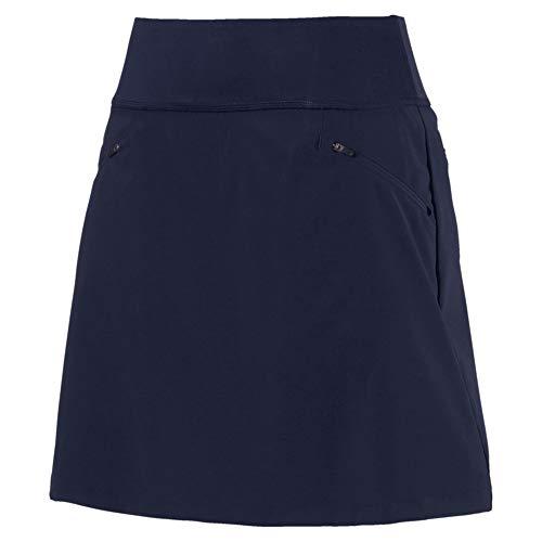 Puma Damen Golfrock, Marineblau, Pwrshape 18 Gr. M, blau