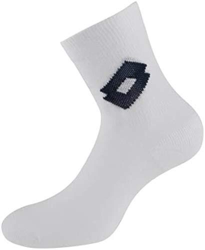 Lotto Light W Lot de 3 paires de chaussettes de tennis pour femme Blanc/bleu marine Taille 39-42