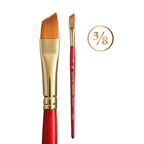 Princeton Heritage Synthetic Sable Brush 4050 Angle Shader 3/8in