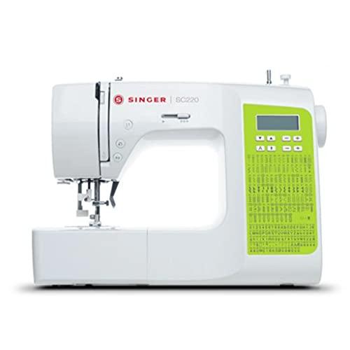 Machine à coudre Singer SC220-GRN - 200 points