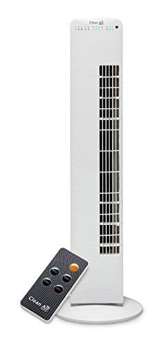 Ventilador de lujo con ionizador CA-405–Caudal de aire: hasta 520m³/h–Diámetro de giro (oscilación): aproximadamente 80º