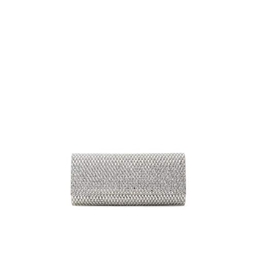 """Clutch for women Synthetic material Removable chain crossbody strap Bag dimensions: 9"""" W x 4"""" H"""