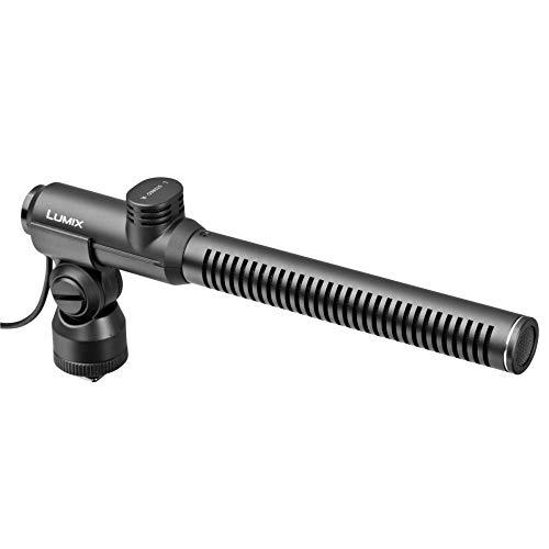 Panasonic LUMIX DMW-MS2E externes Richt Stereomikrofon (geeignet für LUMIX)