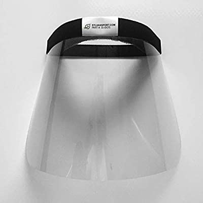 SylvanSport Disposable Infectious Disease Control Face Shield, Personal Protective Equipment, Medical Grade, 10 Pack
