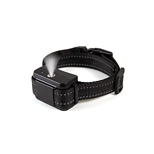Bikirin Verbessertes Anti-Bell-Halsband, (USB Wiederaufladbares) No Harm Anti-Barking Erziehungshalsband Hund mit Spray für Große, Mittelgroße und Kleine Hunde
