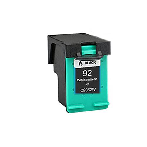 Tóner compatible para HP 92 93XL, repuesto para HP Deskjet 5420 5432 5440 5442 5443 OfficeJet 6300 6310 6310xi, unidad de tambor de impresora BK, C, Y, M, color negro