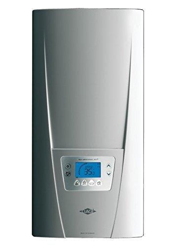 Eléctrica de flujo dinámico caliente de la caldera calentador instantáneo de agua coloreada pantalla 18-27 kW con el panel de control inalámbrico