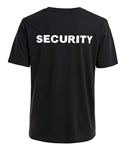 Brandit Security-T-Shirt, Schwarz L