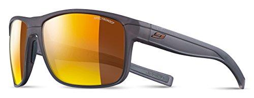 Julbo Herren Renegade Sonnenbrille, Schwarz Translu matt/grau, one Size