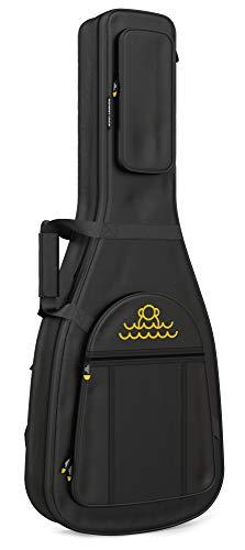 Monkey Loop - Jumping Electric - Funda para Guitarra Eléctrica - Dimensiones 39 x 104 x 9 cm - Color Negro - Acolchada - Alta Calidad - Protección Superior - Asa Reforzada - Materiales Resistentes