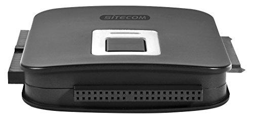 Sitecom CN-334 Adattatore 2-in-1 da USB 3.0 a IDE e SATA, Incluso Alimentatore, Nero