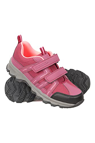 Mountain Warehouse Cannonball Kids Walking Shoes – Soft Mesh Tongue...