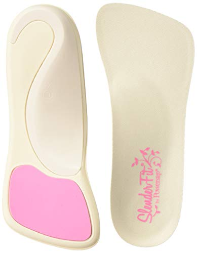 Powerstep SlenderFit Insole, Natural, W 6.5-7.5