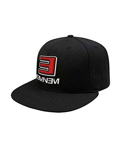 Eminem Baseball Cap Slim Shady MMLP2 Logo Nue offiziell Schwarz Snapback