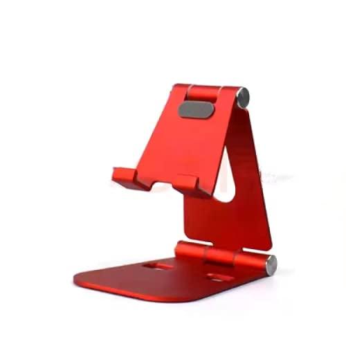 CAIER Soporte ajustable del teléfono móvil para el tenedor de la tableta de la oficina es adecuado para varios tipos de teléfonos móviles plegable titular del teléfono de aluminio
