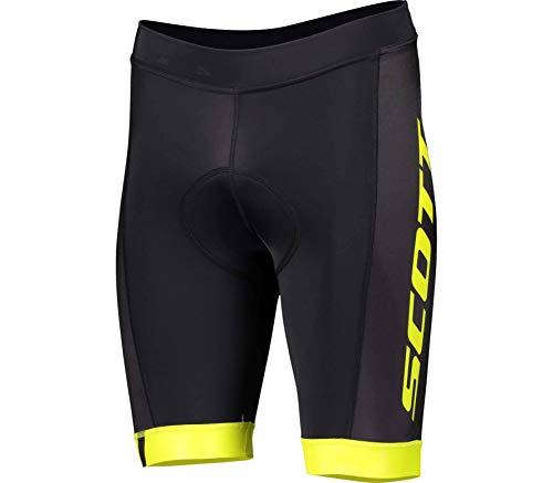 Scott RC Team ++ Fahrrad Hose kurz schwarz/gelb 2020: Größe: M (46/48)