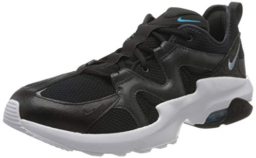 Nike Herren GRAVITON Sneaker, Black/Obsidian Mist-Anthracite, 38.5 EU