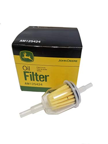 John Deere Original Equipment Fuel and Oil Filter Kit AM125424/AM116304